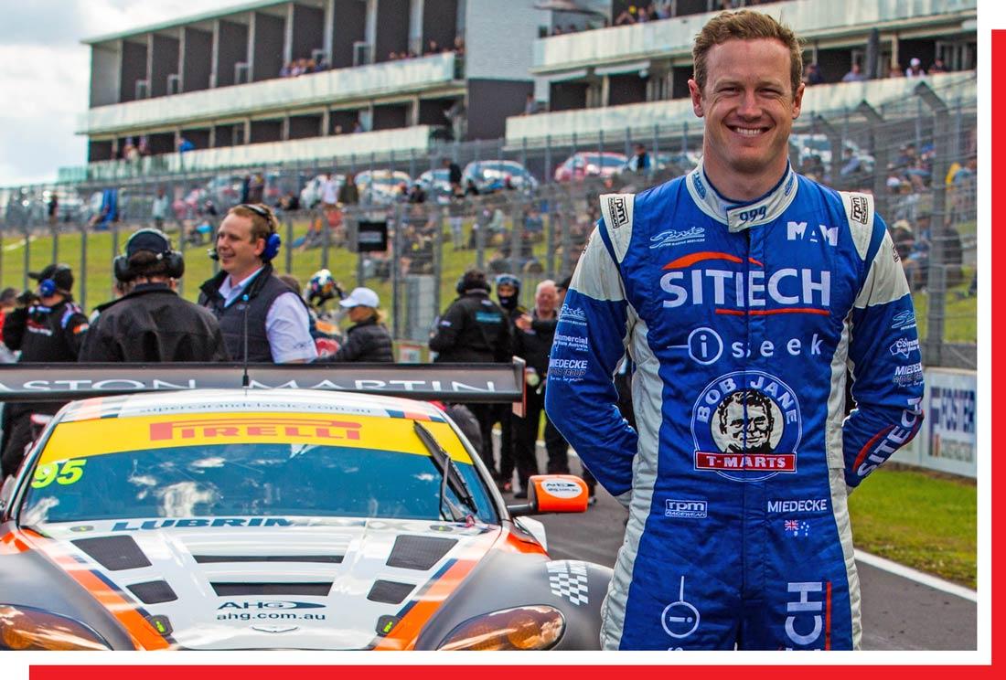 George Miedecke - Miedecke Stone Motorsport