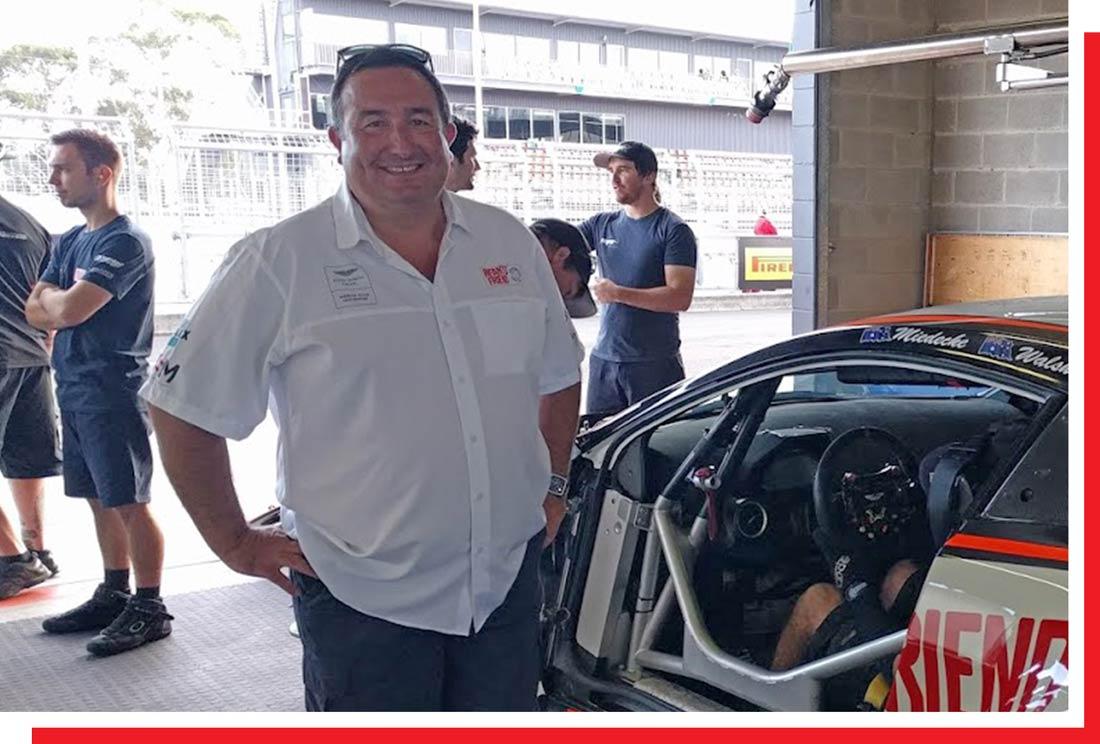 Jay Owen - Miedecke Stone Motorsport